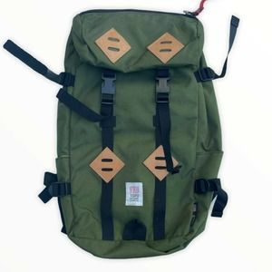 Topo Designs Green Hiking Backpack